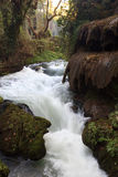 Park stream, Antalya, Turkey Stock Photo