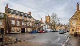 Free Park Street And The Bear Hotel In Woodstock, Oxfordshire, UK Royalty Free Stock Photos - 171373098