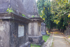 Park Street cemetary, Kolkata, Calcutta, West Bengal, India Royalty Free Stock Image