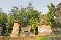 Park Street cemetary, Kolkata, Calcutta, West Bengal, India Royalty Free Stock Images