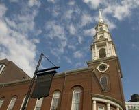 Park Street Church in Boston Stock Photography