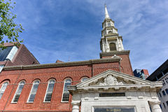 Park Street Church in Boston Royalty Free Stock Photos