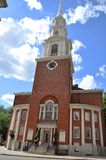 Park Street Church, Boston, USA Royalty Free Stock Images