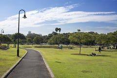 park sunday Arkivfoto