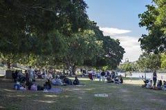 park sunday Fotografering för Bildbyråer