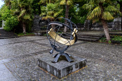 Park sundial Royalty Free Stock Images