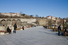 Park in Tbilisi Stock Photo
