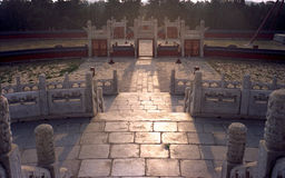 The park of the Temple of Heaven Royalty Free Stock Photo