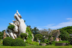 Park in Thailand. Stock Photo