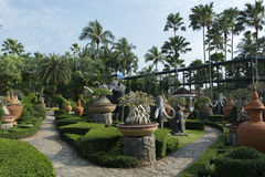 Park in Thailand Stock Foto's