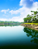 Park in Thailand Royalty Free Stock Images
