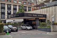 The Park Tower hotel London Knightsbridge Royalty Free Stock Photography