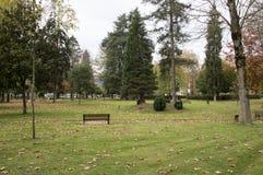 Park town of Azpeitia Stock Photo