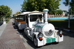 Park train. Sight seeing fun train in a park royalty free stock photos