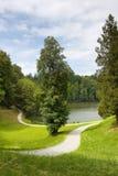 Park in Trakoscan, Kroatien lizenzfreie stockfotografie
