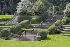 Park-Treppen Lizenzfreie Stockbilder