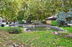 Park at Trikala Thessaly Greece Stock Images