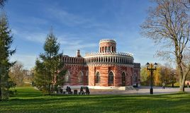 the Park Tsaritsyno State historica Museum Royalty Free Stock Photo