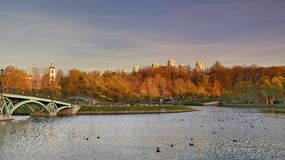 The Park Tsaritsyno State historical Museum Royalty Free Stock Photos