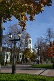 The Park Tsaritsyno State historical Museum Royalty Free Stock Photography