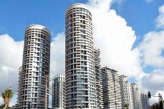 Park Tzameret-Nachbarschaft in Tel Aviv - Israel Stockbild