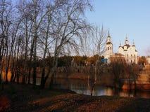 A park. Ukraine. Komsomolsk. A park Stock Images