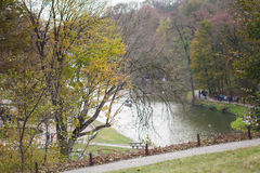 Park in Ukraine. National Sofia park  in Ukraine Royalty Free Stock Photos