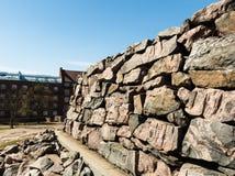 Park und Steine Lizenzfreies Stockfoto