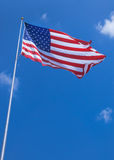 Park US Flag Royalty Free Stock Images