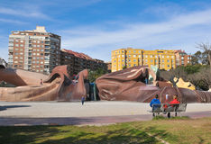Park in Valencia, Spain Stock Images