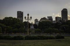 Park van Buenos aires Royalty-vrije Stock Afbeeldingen