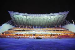Park van de Spelen van Haixinsha het Aziatische bij nacht Stock Foto's