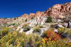 Park van de Staat van Fremont het Indische - Utah Stock Fotografie