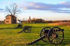Park van het Manassas het Nationale Slagveld royalty-vrije stock fotografie