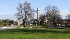 Park van Limoges, Frankrijk stock videobeelden