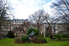 Park van Parijs Royalty-vrije Stock Foto
