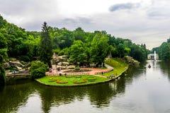 Park 17 van Umansofiyivka royalty-vrije stock fotografie