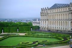 Park in Versailles, Frankrijk: Tuinen van het Paleis van Versailles dichtbij Parijs, Frankrijk stock afbeelding