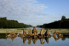 Park of Versailles palace Stock Photos