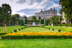 Park in Vienna Austria Royalty Free Stock Photos
