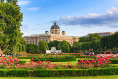 Park in Vienna Stock Photos
