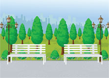 Park View Vector Stock Photos