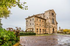 Park and villa Aldobrandini in Frascati, Italy Stock Photo