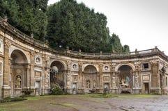 Park and villa Aldobrandini in Frascati, Italy Stock Photo