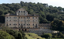 Park and villa Aldobrandini in Frascati Stock Photography