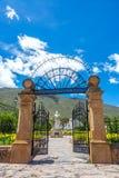 Park in Villa de Leyva Stock Image