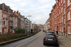 Park vom fünfzigstem, Brüssel, Belgien stockfotografie