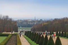 Park von Versailles lizenzfreies stockfoto