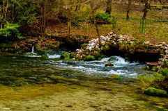 Park Vrelo Bosne. View of the beautiful park Vrelo Bosne in Bosnia and Herzegovina royalty free stock image