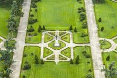 Park w Baton Rogue z statuą Huey Tęsk zdjęcia royalty free